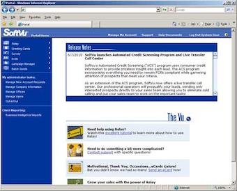 SoftVu Marketing Automation Dashboard