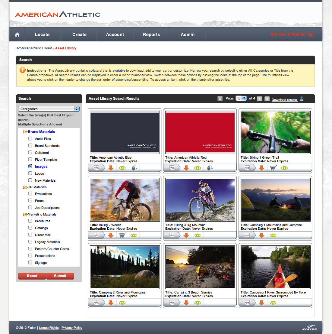 Asset Management - Easy Storage and Search