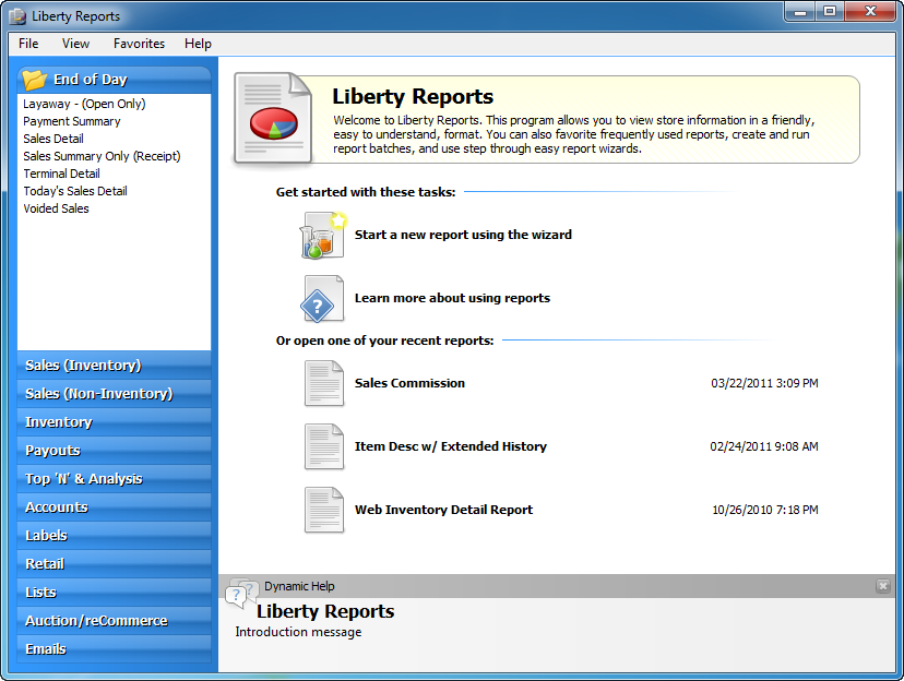 Liberty Reports
