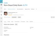 MailChimp - Customer profile