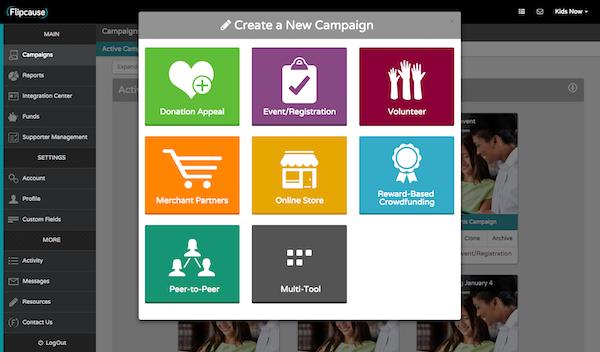 Create campaigns