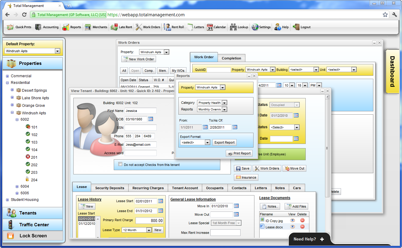 Web-based multitasking