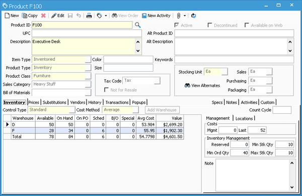 Acctivate Inventory Management Software - 2019 Reviews