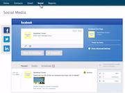 iContact - Social media posting