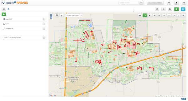 Map based tracking