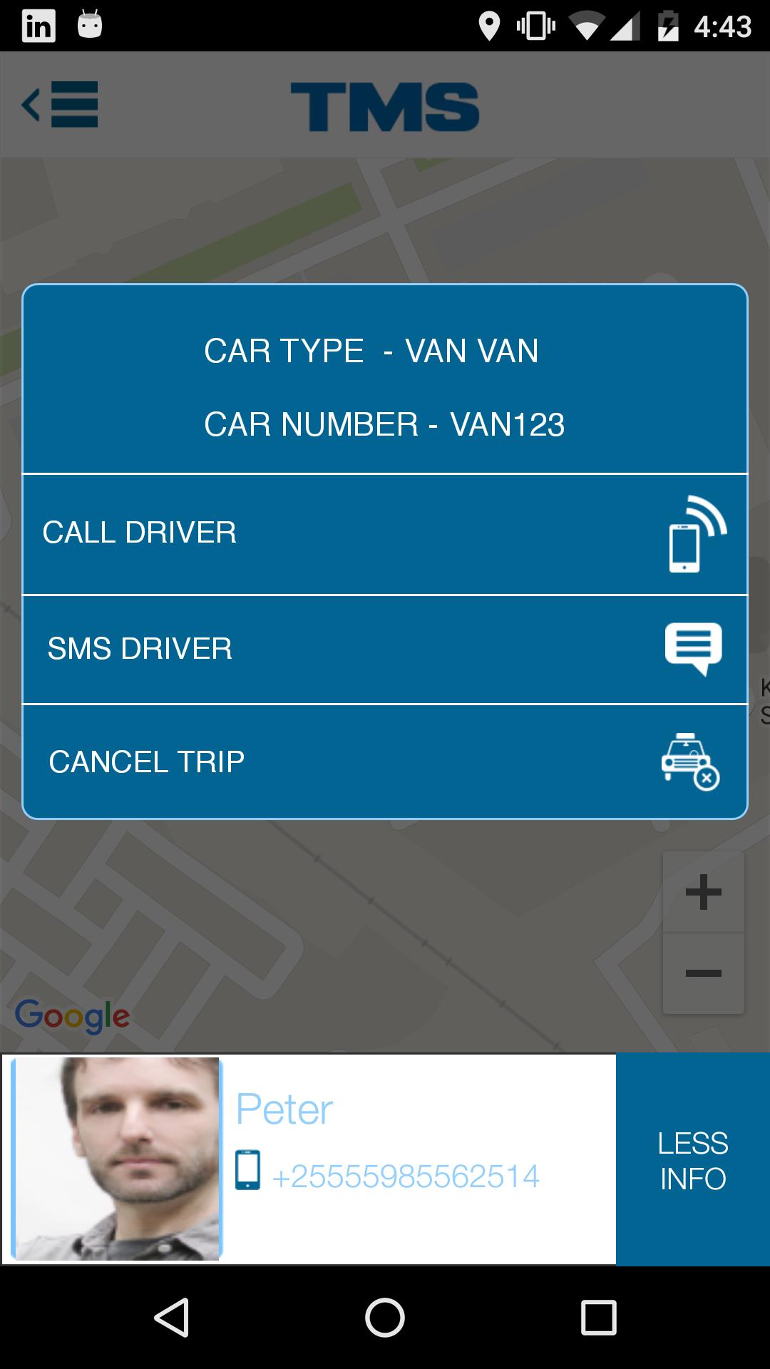 Ride Options