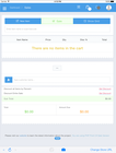PHP Point Of Sale - Sale view 1