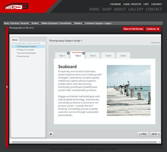 Course Learner Page