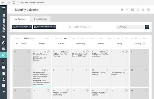 FunctionFox -Calendar