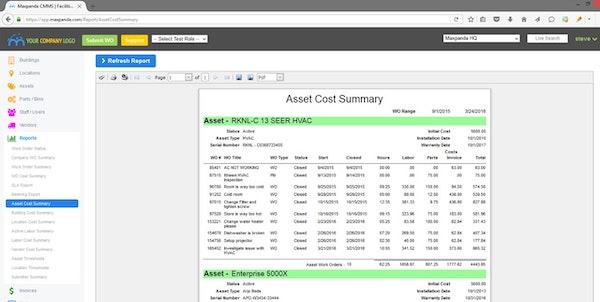 Generate custom reports