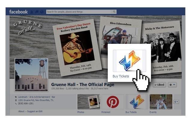 Sell through Facebook