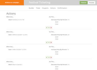 Festival ticketing