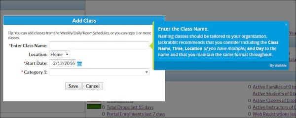 Add classes