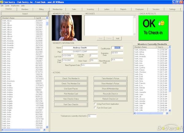 Member database