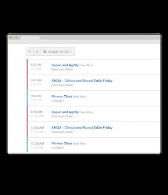 Embedded schedules