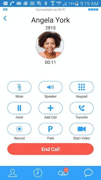 Call in-progress