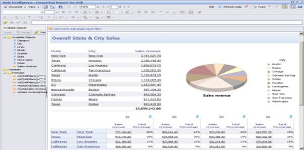SAP Business Objects - Reports - 1
