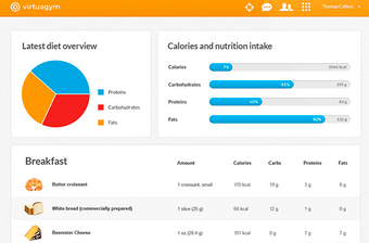 Nutrition tracking