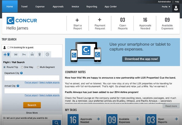 Concur Software 2019 Reviews Pricing Amp Demo
