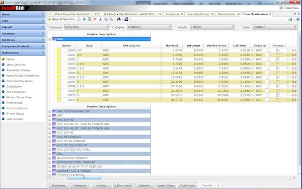 Item Database