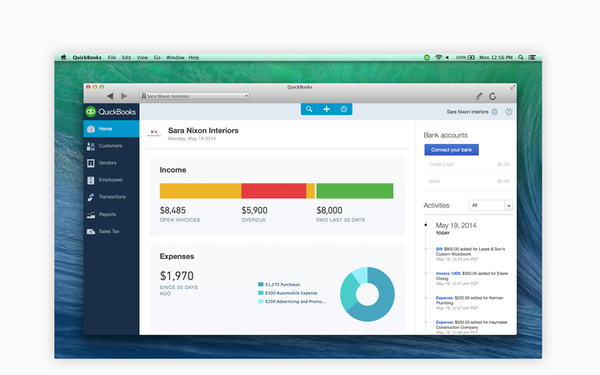 QuickBooks for Mac Software - 2019 Reviews & Pricing