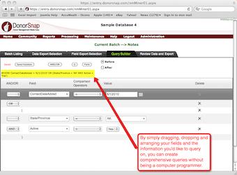 Create comprehensive queries easily
