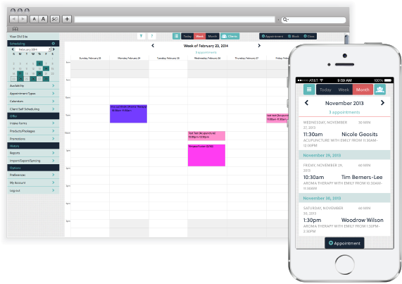 Acuity Scheduling - Acuity Scheduling calendars
