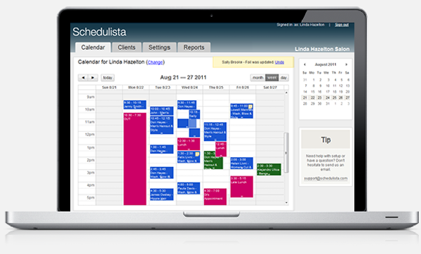 Schedulista Calendar management