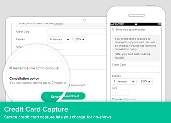 Credit card integration