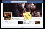 Rosy Salon - Facebook integration