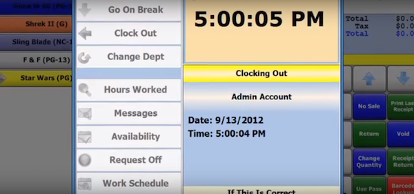 Time clock and scheduling