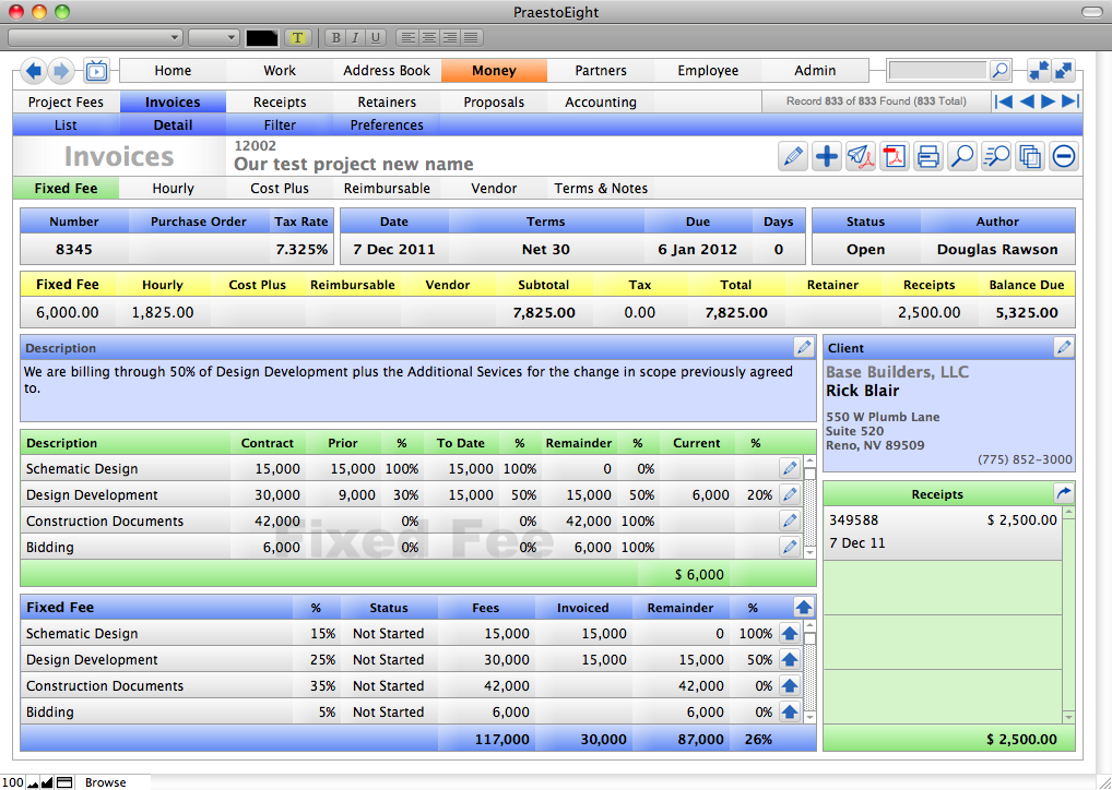 Invoicing made simple - Push to QuickBooks