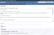 Redmine - Project wikis