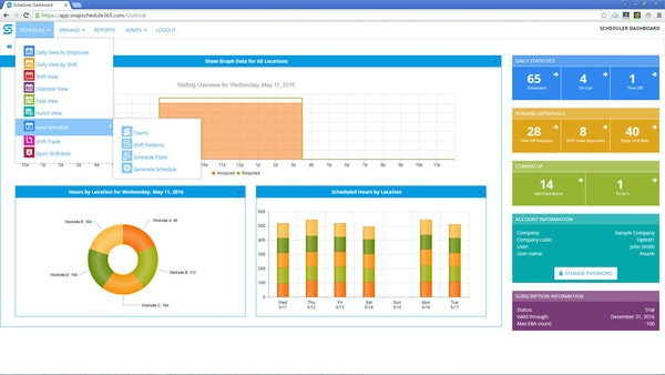 Scheduler Dashboard