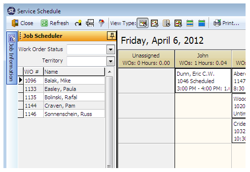 Job scheduler
