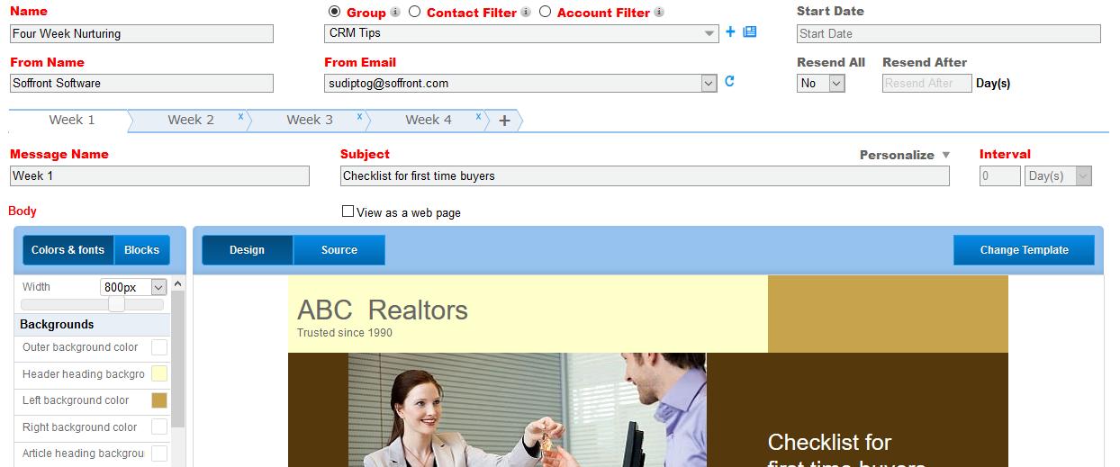 Email Nurturing Sequences