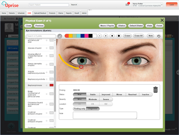 EHR annotations