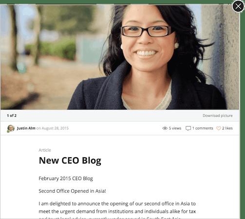 Jostle - Share articles