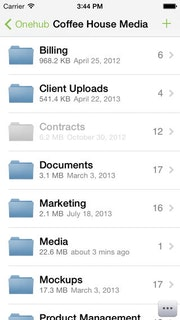 File storage and sharing