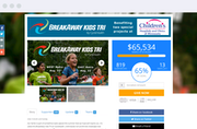 Create fundraising pages