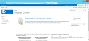 Microsoft SharePoint - Records management