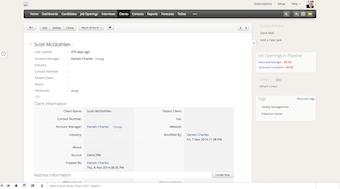 Client page