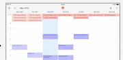 Wunderlist - Calendar view
