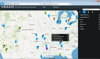 Supplier Location Screen