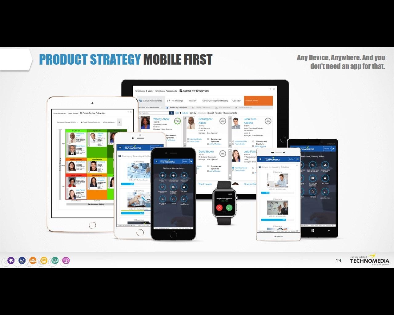 Mobile capabilities