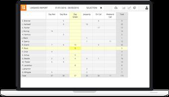 Report grid