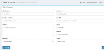 Business development module
