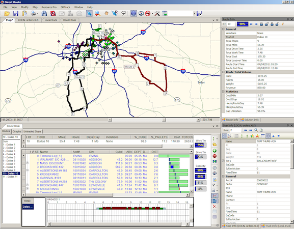 Appian by TMW Systems - Routing Management View