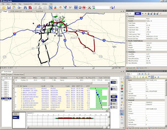 Routing Management View