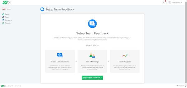 Team feedback